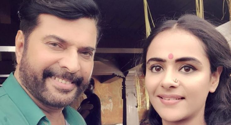 Snapped and slayed: Prachi Tehlan's dazzling shot with mega star, Mammootty!