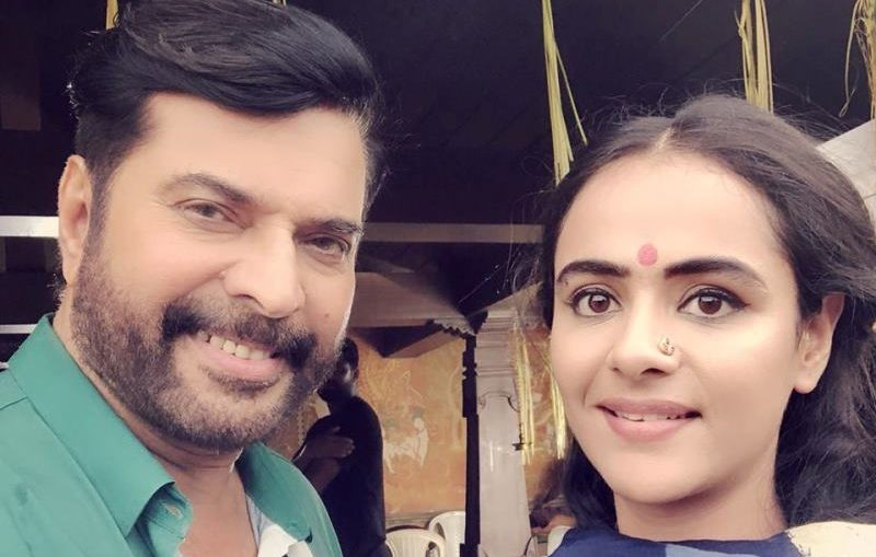 Mammootty with Prachi Tehlan, Prachi Tehlan with malayalam actor Mamootty