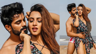 Arshi Khan Bikini Video 'Nakhre' with Vinn Modgill as the mystery man