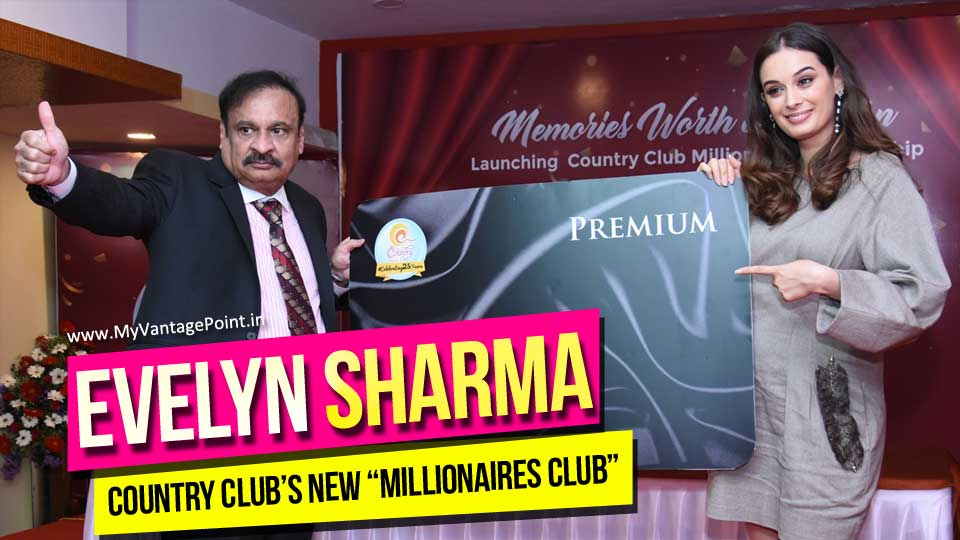 """Evelyn Sharma Country Club Event, Country Club's """"MILLIONAIRES CLUB, Actress Evelyn Sharma"""
