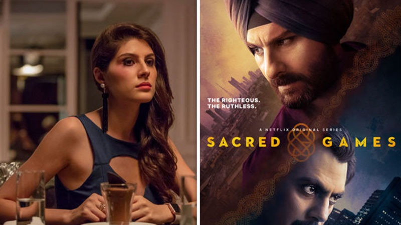 Elnaaz Norouzi in sacred games, zoya mirza of sacred games, who plays zoya mirza in sacred games