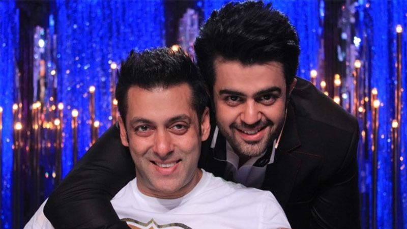 Maniesh Paul & Salman Khan