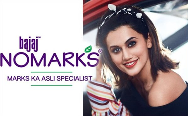 Taapsee Pannu shoots for Bajaj Nomarks – Exclusive BTS video