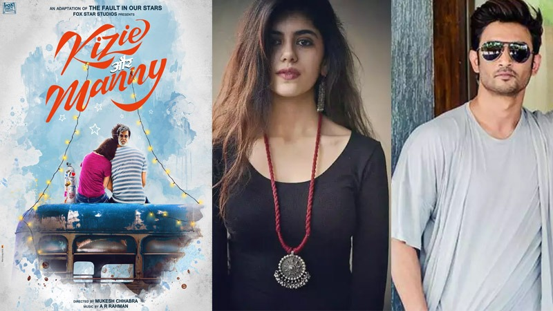 The Fault In Our Stars Hindi Remake, Sushant Singh Rajput, Sanjana Sanghi