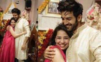 Kartik Aaryan celebrates Raksha Bandhan with sister in Gwalior