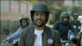 MS Dhoni, Gulf Oil Bat for Road Safety Via Immersive 360 Degree Campaign