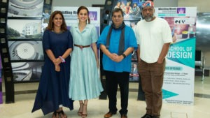 Taapsee Pannu at Whistling Woods International