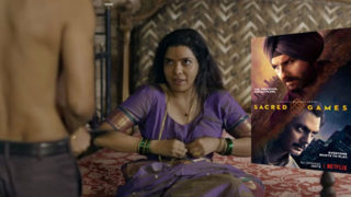 Why Rajshri Deshpande went topless in Sacred Games?