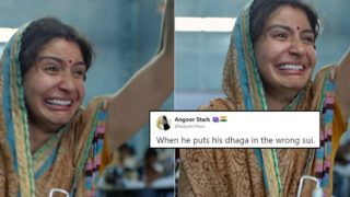 Anushka Sharma's Expressions from Sui Dhaaga Turns into Viral Memes