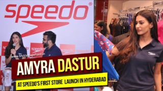 Amyra Dastur Launches Speedo's First Store in Hyderabad