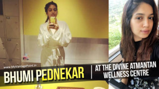 Bhumi Pednekar unwinds at the divine Atmantan wellness centre