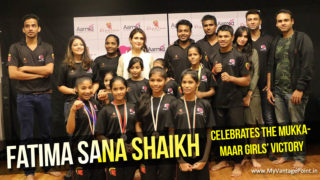 Dangal star Fatima Sana Shaikh celebrates the MukkaMaar girls' victory
