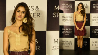 Disha Patani spotted in Marks & Spencer's latest FW 2018 collection