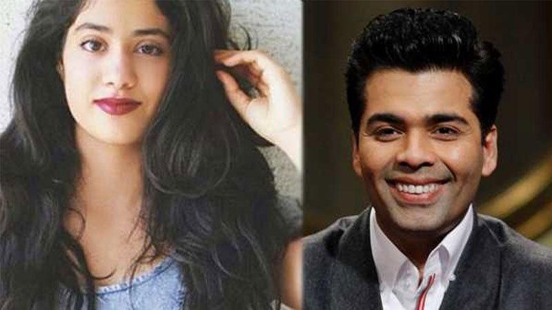 Karan Johar's advices Jhanvi Kapoor to not take social networking site trolls seriously