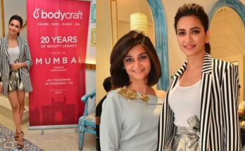 Kriti Kharbanda launches second salon of BodycraftSpa &Salon in Mumbai at Kemp's Corner