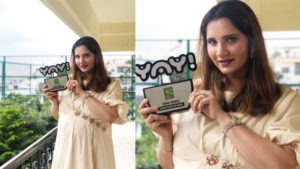 Mom to be Sania Mirza awarded the 'Heroes Behind The Heroes' award by Sony YAY!