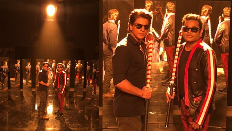 AR Rahman Directs Shah Rukh Khan for the HWC Song Directs the Hockey World Cup Official Video; his first since Vande Mataram in 1997