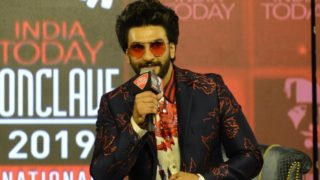 Ranveer Singh at India Today Conclave 2019