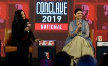 Sonali Bendre at India Today Conclave 2019