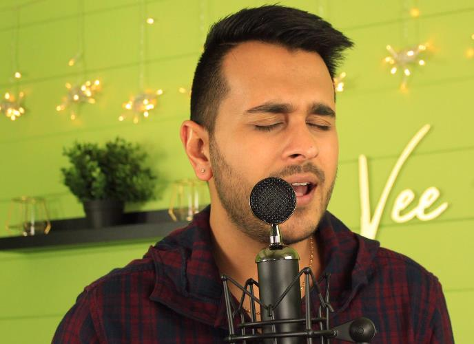 Singer Vee Kapoor releases a soulful rendition of Dil Mein Ho Tum on his YouTube channel