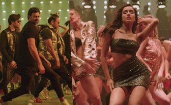Prabhas & Shraddha Kapoor in Song Psycho Saiyaan from movie SAAHO