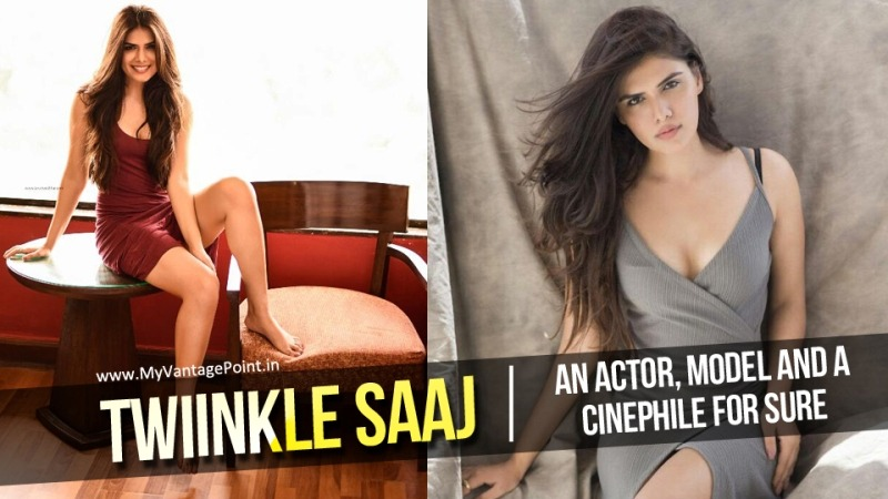 Twiinkle Saaj Model and actress