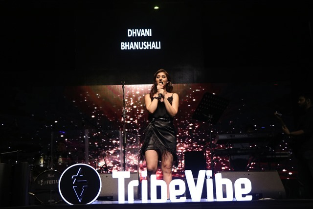 Dhvani Bhanushali performs her first gig at NM College