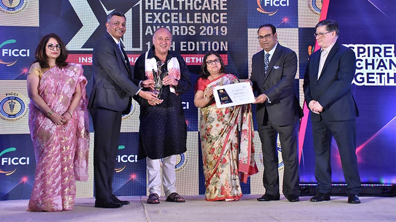 Motherhood Hospitals wins FICCI Healthcare Excellence Awards award for patient care