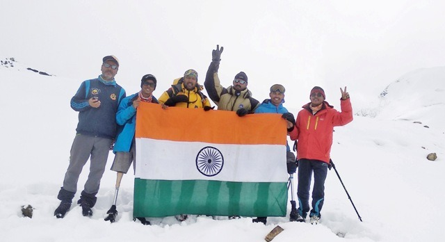 Aditya Mehta Foundation & BIAAT teams scaled Bhageerathi II (21365 ft), as they set themselves to a create world record