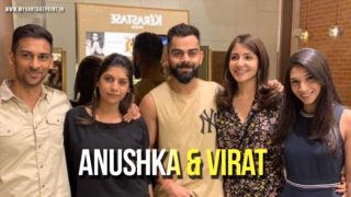 All time famous lovable couples Virat Kohli and Anushka Sharma visited Blown salon in Bangalore!