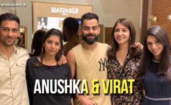 Virat Kohli and Anushka Sharma visited Blown salon in Bangalore!
