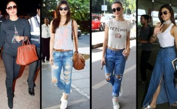 airport style, airport look of bollywood celebrities