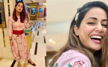 Hina Khan spotted wearing Pasha India