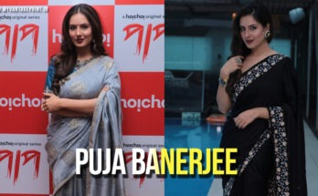 Puja Banerjee's first web series Paap
