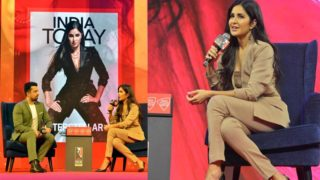 Katrina Kaif talked about her evolution as an actor at the India Today Conclave Mumbai 2019