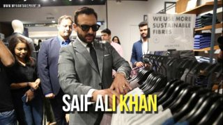 Premium Menswear brand Selected Homme announces Saif Ali Khan as Brand Ambassador