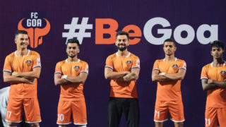 Virat Kohli unveils FC Goa new home jersey for the 2019/20 season