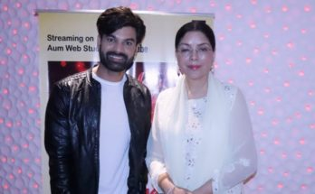 "Zeenat Aman launches Yuvraaj Parashar devotional single ""Atharva"""