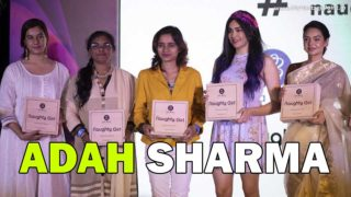 Adah Sharma unveils 'Naughty Girl' by Lyla Blanc