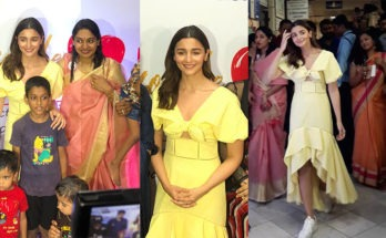 Alia Bhatt Supports the Cause 'Art For Heart'