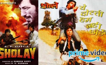 Sholay on Amazon Prime Video