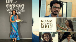 "Tannishtha Chatterjee awarded by ""Asia Star award"" at The 24th Busan International Film Festival for her film 'Roam Rome mein'"