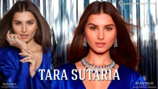 Tara Sutaria announces as Brand Ambassador of Fine jewelry brand Hazoorilal Legacy