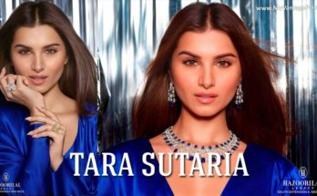 Tara Sutaria as their Brand Ambassador