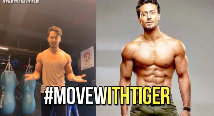 Tiger Shroff throws the #MoveWithTiger challenge at his fans and it goes viral!