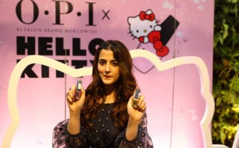 OPI launches the OPI X Hello Kitty Collection with celebrity NupurSanon
