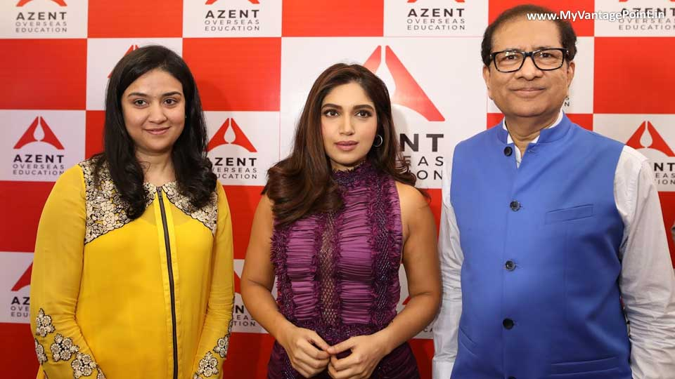 Bhumi Pednekar Launched The Azent Overseas Education Ahmedabad Centre