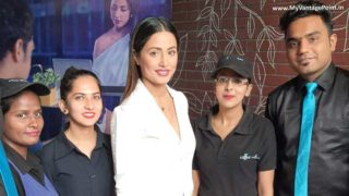Hina Khan 'Hacked' Coffee Culture for a Meet & Greet with her Fans in Mumbai