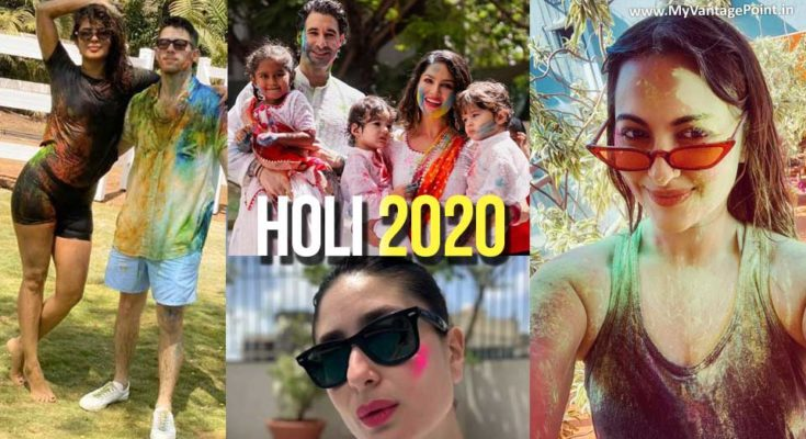 Holi – The Festival of Colors Celebration 2020 by Celebrities   Compilation
