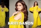 Kriti Sanon in Yellow Dress